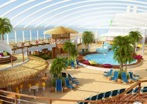 AIDAprima Beachclub