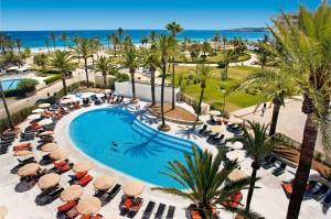 Ausblick aus dem Hotel Bahia Del Este auf die Bucht von Cala Millor