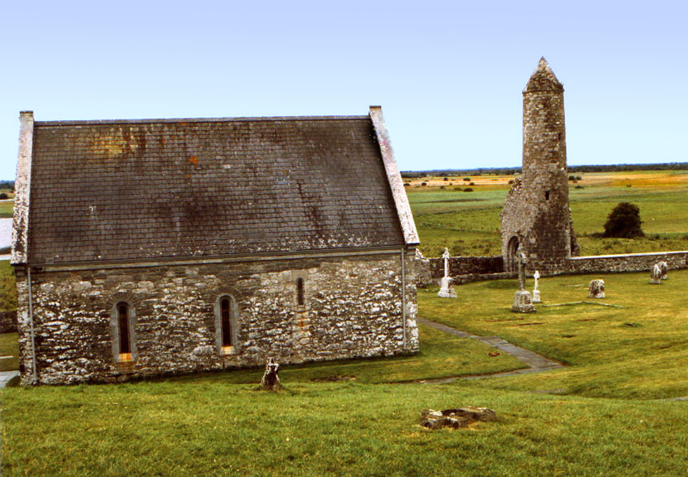 Clonmacnoise Cathedrale