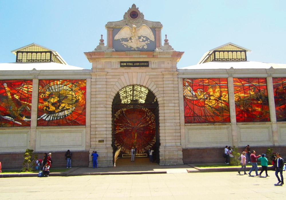 CosmovitralJardinBotanico in Mexico City