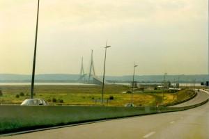 Frankreich Pont de Normandie