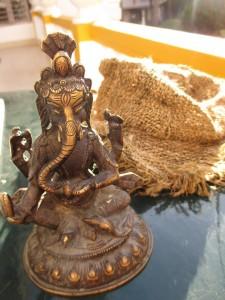 Ganesh steht für Luxus