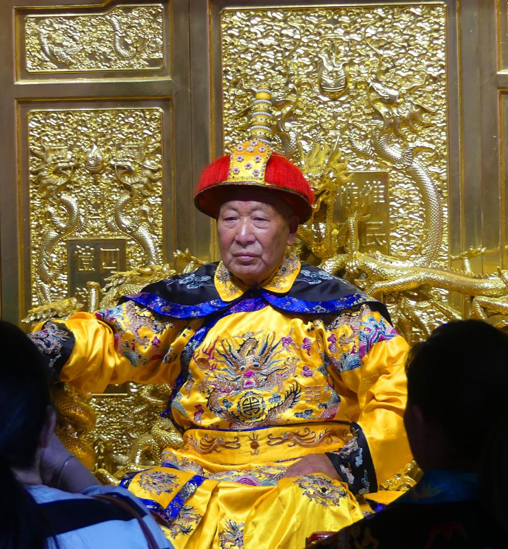 Kaiserpalast in der Verbotenen Stadt Beijing