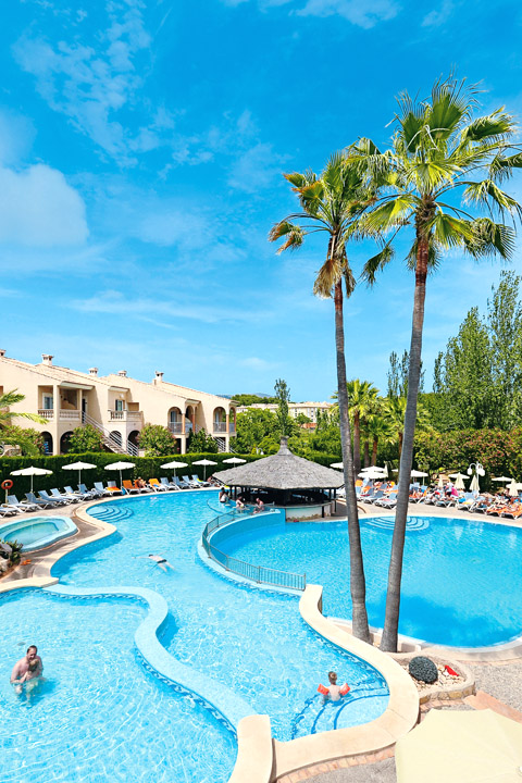 Hotel Mallorca Poollandschaft