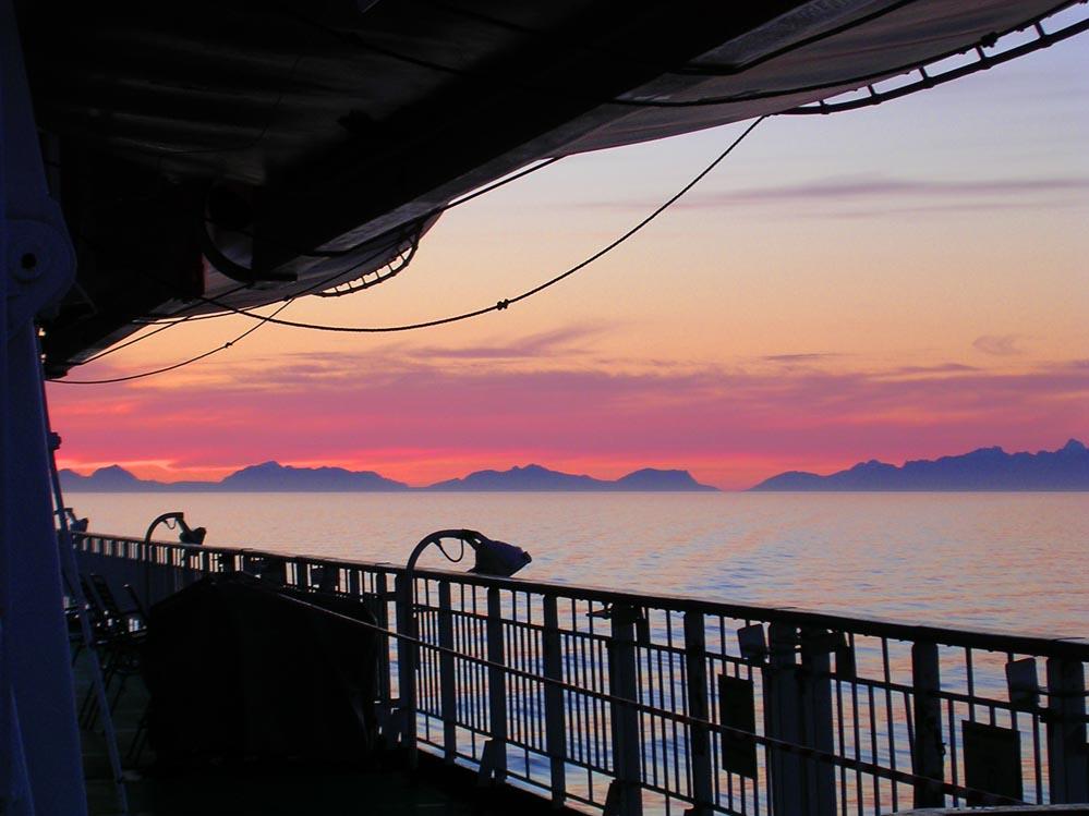Hurtigruten Lofotenwand