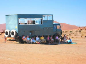 Namibia Rundreise Gruppe