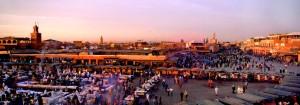 Platz Djemaa-el-Fna