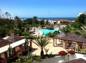 Hotel RIU Tikida Beach Agadir Meerblick