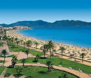 Bucht von Cala Millor Mallorca
