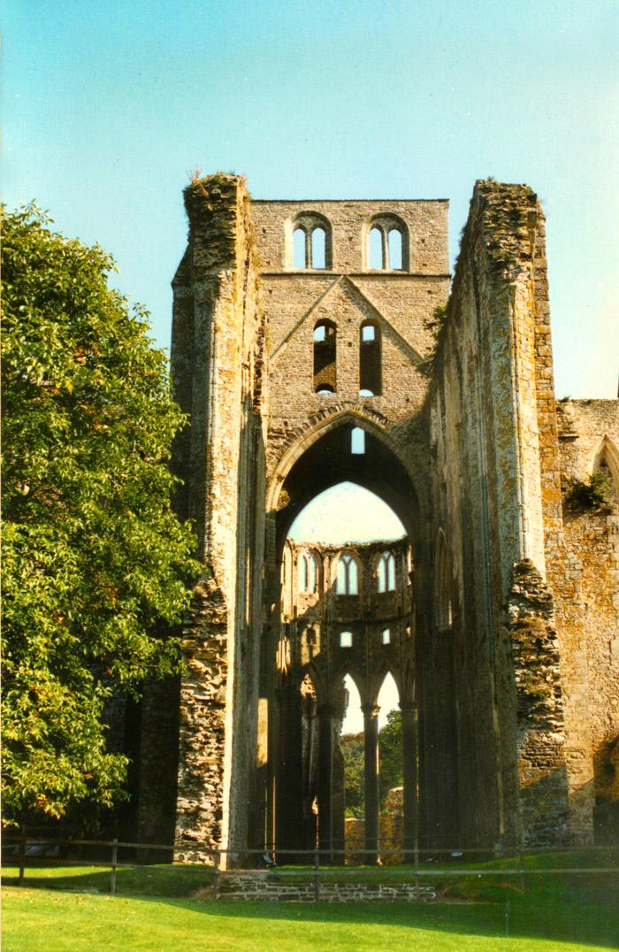 Abtei Jumièges Klosterkirche Ruine in der Normandie