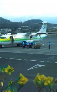 Flughafen Teneriffa Nord, hier wird innerkanarisch geflogen