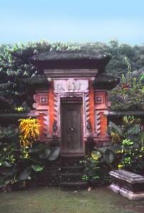 Ubud Tor zum Lotusteich