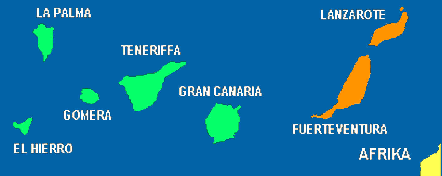 Kanaren Inseln Karte.Inselhopping Kanaren El Hierro Krefelder Reisen
