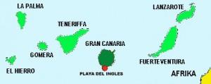 Kanaren-Karte