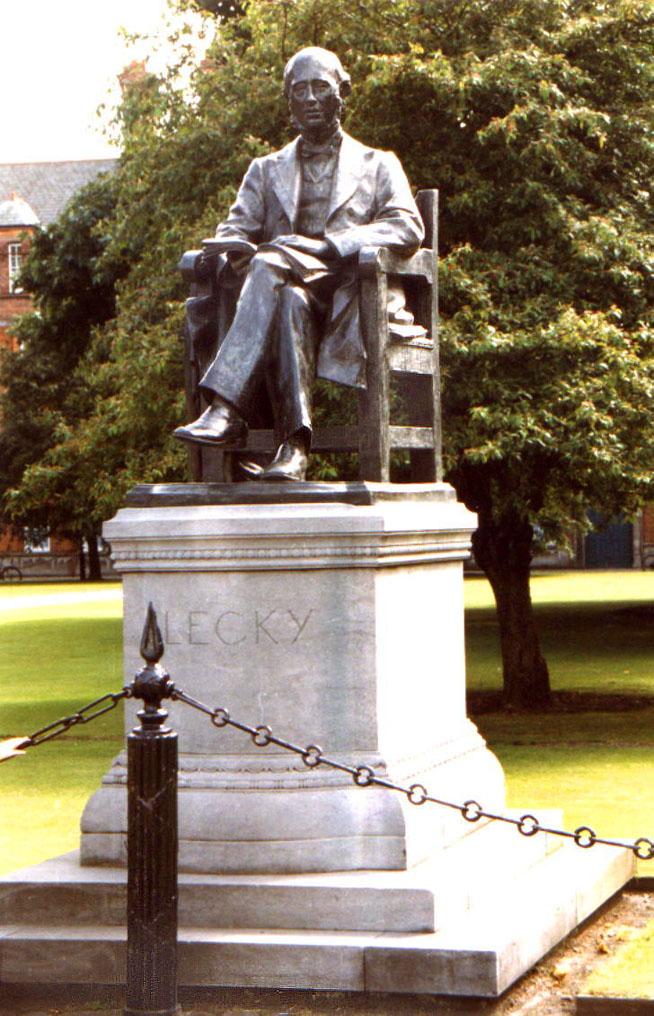 Statue von Lecky im Trinnity Park
