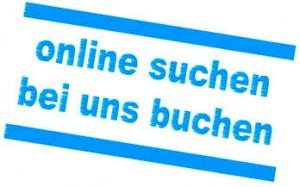 online suchen - bei uns buchen
